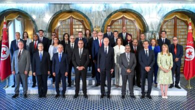 Photo of Tunisia's Mechichi Cabinet in Its Way to Quit