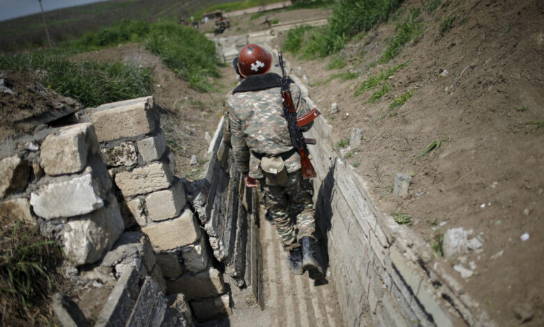 Armenia and Azerbaijan forces fought